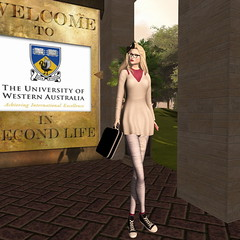 Back To School challenge (Jaily -Miss VLMxico 2016) Tags: backtoschool modelsmagazine challenge nyu fy wac jmf chopzueyjewellery truthhair madnerd egd catwa hellodave universityofwesternaustralia secondlife sl model modeling jailybailey jaily virtuallyvisual briefcase chucks peplum