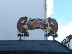 Haus der Bratwurscht (mkorsakov) Tags: wanneeickel city innenstadt schild sign typo character wurst wtf