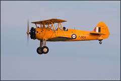 Boeing B75 Stearman (Pavel Vanka) Tags: boeing b75 stearman lkln plane planes plzen plzenline pilsen czechrepublic czech biplane warbird vintage vintageaircraft airplane aircraft spotting spotter flying fly