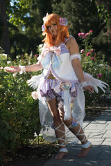 Angel In the Garden (UnsignedZero) Tags: arryangelsheart california californiastatecapitolmuseum celebrationevent cosplaytype downtownsacramento goldenhour internationalworldpeacerosegardens item lovelive object out outdoor outdoors outside outsides sacanime sacramentocounty sunny weather