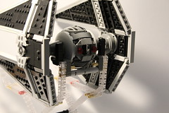 [MOC] TIE Interceptor (Magmafrost13) Tags: lego moc star wars starwars tie fighter interceptor