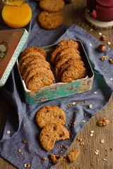 IMG_3088_exp (Helena / Rico sin Azcar) Tags: galletas cookies avena oats chocolate frutossecos nueces muesli