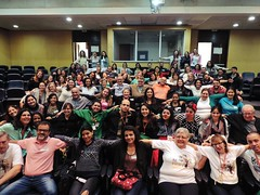 Abraçaço do voluntariado do Instituto Emílio Ribas