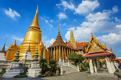 Wat Phra Kaew (Thailandia) (ParrocchiaCarmineUd) Tags: bangkok thailand temple wat phrakaew travel tourism destination attraction religion buddha culture grandpalace traditional building buddhism history thai famous architecture pagoda ancient