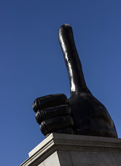 Really Good by David Shrigley, Trafalgar Square, London (IFM Photographic) Tags: img2766a canon 600d ef2470mmf28lusm ef 2470mm f28l usm lseries london westminster cityofwestminster city fourthplinth davidshrigley trafalgarsquare art