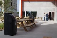 Contenedor Combo con soporte para bandejas (Glasdon Europe Sarl ES) Tags: glasdon glasdones combo contenedor contenedores