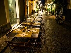P9273299 Italy Sicily Catania (Dave Curtis) Tags: 2013 catania em5 europe italy omd olympus restaurant tables night sicily