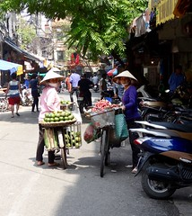 Bike fruit (program monkey) Tags: vietnam hanoi oldquarter seller street fruit bicycle bike