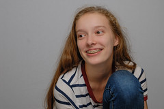 """Clam Shell"" portrait (mcsguitar1) Tags: clam shell lightning paramount teen sigma 1750 f28 pretty natural casual smile"