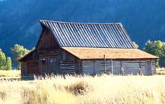 Old Log Barn, Mormon Row - Grand Tetons National Park, Wyoming (danjdavis) Tags: barn oldbarn mormonrow grandtetonsnationalpark nationalpark wyoming logbarn