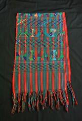Rebozo Shawl Maya Guatemala Cotzal (Teyacapan) Tags: maya ixil textiles guatemalan rebozo shawl weavings cotzal ropa clothing