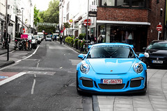 Bluetiful. (fabianbaege) Tags: porsche 991 911 gt gt3 gt3rs rs rennsport racing mercedes benz c c63 63 55 45 65 70 amg v8 v12 biturbo 62 coupe black series red blue miami spoiler wing dowanforce downforce racecar carspotting supercar karsrluhe karlsruhe cologne kln
