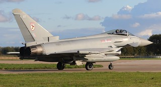 ZK331/BT  TYPHOON  29sqn  RAF