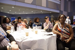 Women Teachers Consultation Conference (nasuwt_union) Tags: promoting equality leading change women teachers consultation conference nasuwt drpatrickroach chriskeates icc birmingham stage blue talking teachers school national assoication schoolmaster union screen table workshop question answer