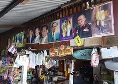 the king at a food shop (the foreign photographer - ) Tags: king posters portraits food shop khlong bang bua bangkhen bangkok thailand nikon d3200