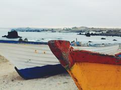 Fishermen's place (ManuSotomayor) Tags: dock landscapephotography landscape colorful boats puntadechoros latinamerica southamerica coquimbo chile