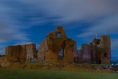 Rhuddlan Castle (Graham Peers) Tags: history castle rhuddlan architecture stone wales north nightscape landscape long exposure nikon d600 tamron 2470 f28 slow shutter 70secs no filters flash ruins outdoor rock
