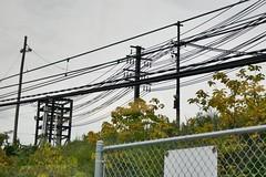 600v Feeders (en tee gee) Tags: poles wires feeders 600vdc cleveland ohio