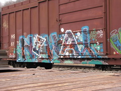 Noway (phiffer01) Tags: graffiti pacific canadian noway canadianpacific