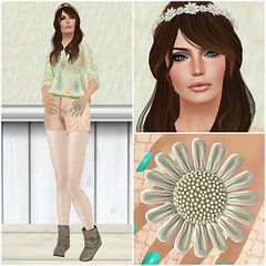 I Got Flowers In The Spring (Millie Gears) Tags: olive jim noodles ikon belleza izzies teefy dluxx clawtooth btts beetlebones {montissu} collabor88 maxigossamer