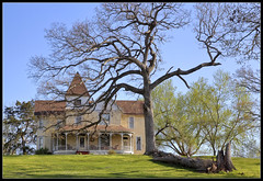 House on a Hill (ioensis) Tags: house tree hill mo missouri april frankford jdl 2013 ioensis 85360835067tmtc1c