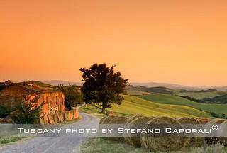 tuscnay-landscape-sunset