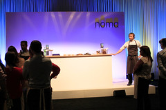 4197 - at the Noma lounge with Lars Williams (AO At Home) Tags: food london alex docks lab williams ashley festivals tony lars event heston taste tobacco massimo noma atala erskine aeg blumenthal gizzi conigliaro bottura