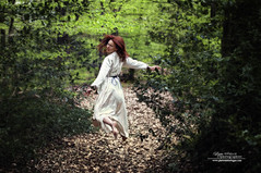 The escape (philippe MANGUIN photographies) Tags: green nature vert foret fe morgane viviane broceliande