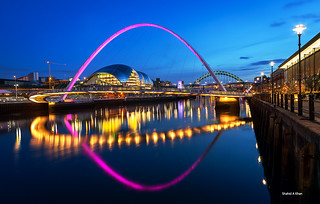 Millennium Bridge - Newcastle upon Tyne - UK