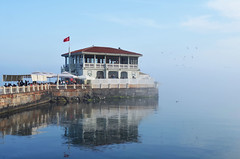 Foggy Afternoon in Moda Pier, Kadky, Istanbul, Turkey (SvKck) Tags: