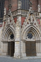 St. Jacob's and St. Agnes' Church doors (Michael Tracy's photos) Tags: poland nyas