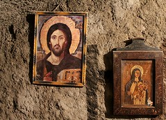 CAIRO - COPTIC ICONS (Punxsutawneyphil) Tags: africa church christ capital hauptstadt religion jesus egypt iglesia kirche christian cairo afrika christianity egipto oriental orient stgeorge gypten egitto coptic christus copts  oldcairo kairo copticcairo christentum christlich koptisch kopten