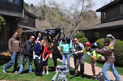 Photo - EVOL Foods Team on Earth Day