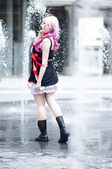 Inori - Guilty Crown (YurikoTiger.com) Tags: pink hot anime cute love beautiful japan hair japanese tokyo cool model italian perfect cosplay tiger manga wig idol kawaii crown akihabara cosplayer otaku yuriko guilty    supercell yuzuriha fumettopoli   inori  cosmode  nicecosplay yurikotiger   cosgen