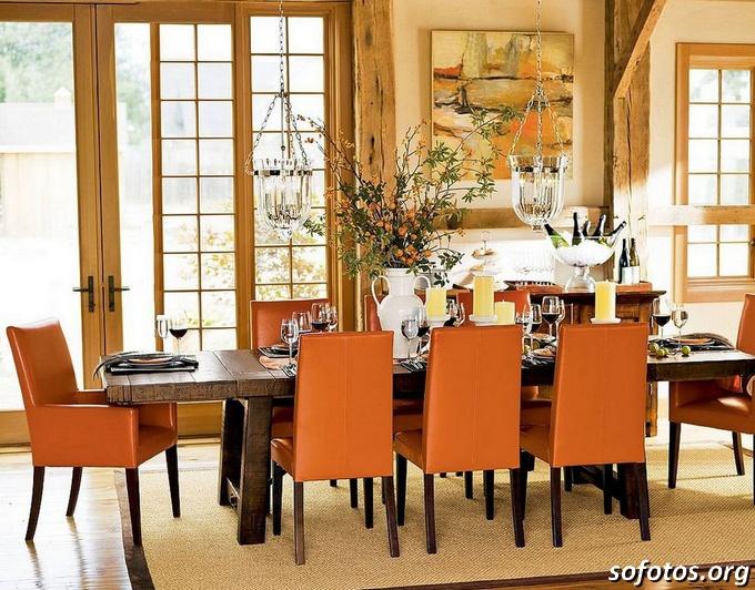 Salas de jantar decoradas (66)