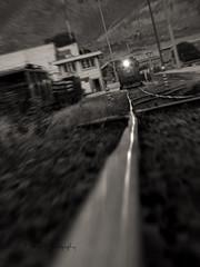 Next Station (Μehdi) Tags: blackandwhite bw station train iran rail ایران mehdi مهدی ایستگاه 1392 قطار 2013 سیاهوسفید اراک ریل arák
