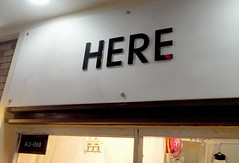 Here (cowyeow) Tags: china street strange sign shop retail asian weird store funny asia chinese bad here wrong guangdong engrish badsign shenzhen simple nutty  funnysign chingrish funnychina