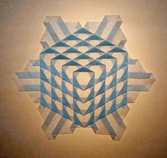 CUBE  TESSELLATION (mganans) Tags: origami tessellation ralfkonrad
