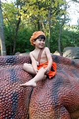 IMG_1765 (operabug) Tags: halloween flintstones museumoflifeandscience bettyrubble barneyrubble bammbamm