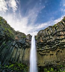 Svartifoss, Iceland (marc.sharp) Tags: iceland east is stone basalt landscape waterfall volcanic water svartifoss sky longexposure