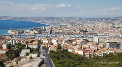 Marseille (gporada) Tags: marseille gporada 2016 notredamedelagarde panorama nikon d40 france frankreich outdoor city stadt meer wasser hafen hafenstadt harbour basilique basilika provencealpesctedazur welltaken wow phvalue world100f