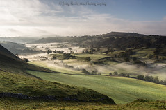 A misty Valley (Joey Hodgson *lost everything, now re-uploading*) Tags: sunrise mist valley peakdistrict photography landscape landscapephotography green hills joeyhodgsonphotography sony sonya55
