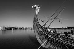 Black and White Figurehead (TAC.Photography) Tags: draken tallships vikingship figurehead saginawriver baycitytallships2106