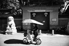 Pass by (sunnywinds*) Tags:          beijing china leica summilux temple buddhist summer motor bike  pek