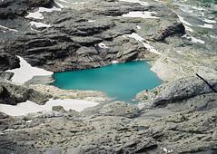 See (Catherine Lemblé) Tags: see lake meer azuurblauw azurblau bergen mountains swiss zwitserland bernese oberland wildstrubel analog film 120mm mamiya645 cabinfever catherinelemble catherine lemblé
