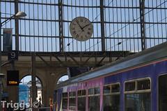 Limestreet Clock (frisiabonn) Tags: clock limestreet liverpool merseyside northernrail train dmu diesel multiple unit 156 uk great britain england united kingdom