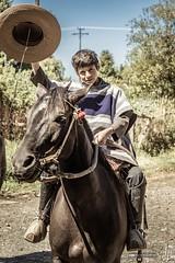 Un joven huaso (hapePHOTOGRAPHIX) Tags: 152chl amricadelsur chile cowboy fognlosalerces huaso hut loslagos nikond750 object pferd southamerica sdamerika tier animal chilenischerlandarbeiter equestrian equine hapephotographix hat horse horses sombrero vaquero kid junge kind boy nio chico puertomontt xregin cl