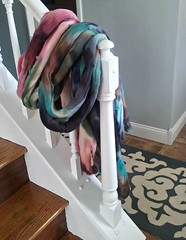 wool top (yarnwench) Tags: wooltop handdyedwool spinning felting yarnwench