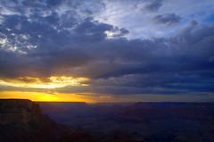 DSC_0016-18 yavapai point sunset hdr 850 (guine) Tags: grandcanyon grandcanyonnationalpark canyon rocks sunset clouds hdr qtpfsgui luminance