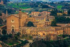 Medieval fairytale, Siena (Arutemu) Tags: 28300 6d canon eos6d eu europe italia italy siena tamron tamron28300 torredelmangia toscana tuscany city cityscape landscape medieval renaissance view ville zoom it